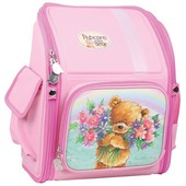Красивенный Кайт Kite Рюкзак рнец  трансформер Popcorn Bear для девочки 1-4 кл.