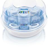 Стерилизатор паровой для СВЧ, для детских бутылочек, Avent
