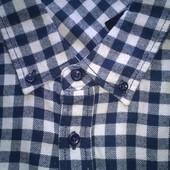 Мужская фланелевая рубашка большого размера 5XL