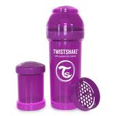 Бутылочка антиколиковая 260 мл. Twistshake 78011 Швеция фиолетовый 12124856