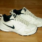 Nike (26,5 см) кожаные кроссовки