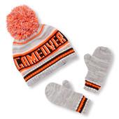 Комплект шапка + перчатки Children's Place (2Т-3Т)