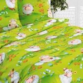 Комплект постельного белья  Веселая лужайка ,поплин