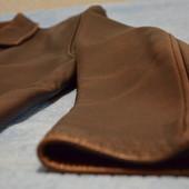 Добротная мужская куртка из кожи буйвола, демисезон, цвет коричневый