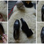 Стильные кожаные туфли,р-р 43