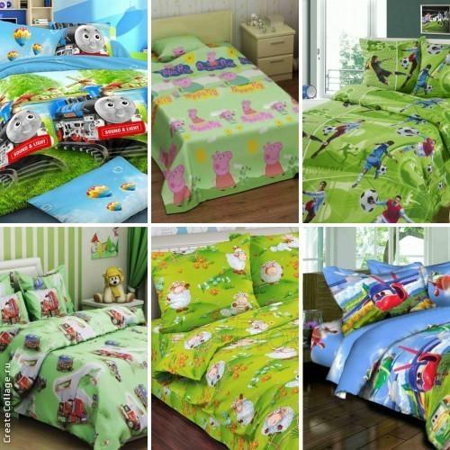Большой выбор постельного белья для деток от тм.Комфорт Текстиль. фото №1