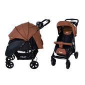 Прогулочная коляска Tilly Forte T-1408 коричневая
