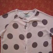 размер 10-12 (M) Махровый человечек-пижама Love to Lounge, б/у. Хорошее состояние, без пятен. Длина
