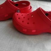 Кроксы crocs (оригинал )colorado, размер W 4,наш 34р,. Босния