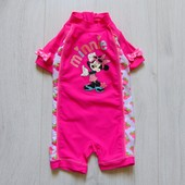 Яркий купальный костюм для маленькой принцессы. Disney. Размер 9-12 месяцев. Состояние: новой вещи