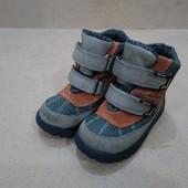 Термо ботинки Dei-Tex на липучках для мальчика