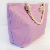 Стильные пляжные сумки,однотонные