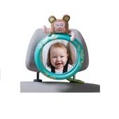 Обзорное зеркало в автомобиль для родительского контроля за ребенком - Тропики