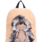 Детские рюкзаки PoolParty с ёжиком, обезьянкой и собакой