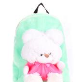 Детские рюкзаки PoolParty с медведем