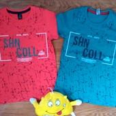 футболки стильные и яркие Турция, размер 1,2 только