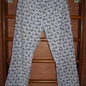 Штаны флисовые,пижамные, женские, размер L