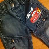 Моднявые джинсы Тачки от George (на рост 86-92 см)
