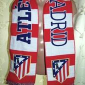 Оригинал футбольний шарф ф.к Атлетико Мадрид .
