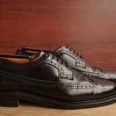 -Cheaney Lincoln  -made in England -обувь класса Люкс -натуральная кожа -прошитая подошва -размер ан