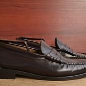 -Loafers -выполнены полностью из кожи -прошитая подошва -размер 43  -полная длина стельки 27.5 см -с