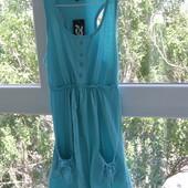 Сарафан на лето новый цвет мята 100% хлопок XS-S размер
