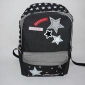 Рюкзак молодежный 1805-черный