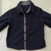Стильная рубашка Mothercare  18-24мес (92см)