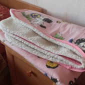 Одеяло детское на овчине 140/110 см