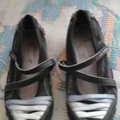 шкіряні туфлі 32р 20,5см
