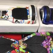 Гироскутеры G-18, сигвеи, гироборды 6,5, 8 и 10 дюймов в ассортимете, Segway, Bluetooth, Сумка, led