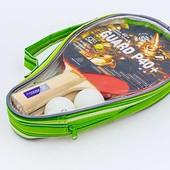 Набор для настольного тенниса GD Super40 MT-5681: 2 ракетки + 2 мяча + чехол