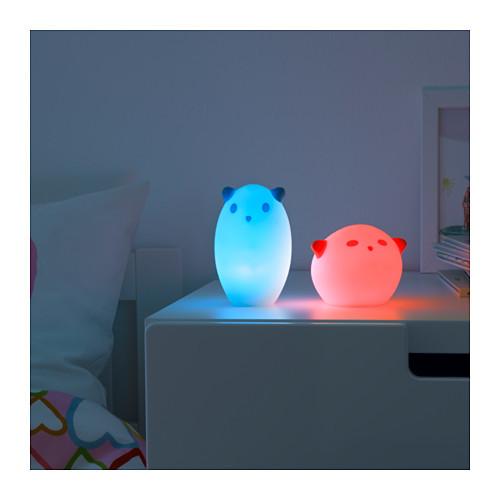 Чудо cветильник ночник синий, spoka от икеа ikea, яркая мечта в наличии! фото №2