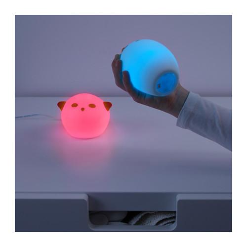 Чудо cветильник ночник синий, spoka от икеа ikea, яркая мечта в наличии! фото №3