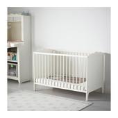 Кроватка детская белый, Хенсвик Hensvik Ikea Икеа 002.485.29 В наличии