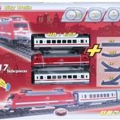 Железная дорога с поездом, 21 см