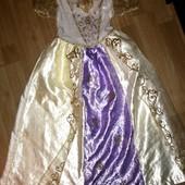 Карнавальное платье на 7-8  лет  Рапунцель George