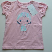 Нежная футболка для девочки от Dombi baby из Испании