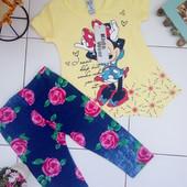 Літній костюм Minnie Mouse 3-5 років