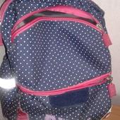 Фирменный школьный рюкзак для девочки  Zibi