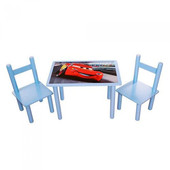 Детский столик со стульчиками Тачки F062