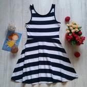 9-10 лет Трикотажное платье в морском стиле Next