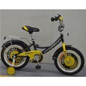 Велосипед детский Profi G1443 14 дюймов c поддержкой
