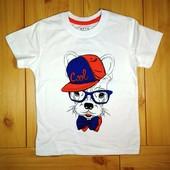 Детская футболка для мальчика рр. 104-122