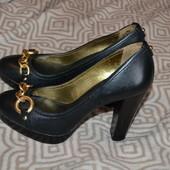 туфли Banana Republic США 23.5 см стелька оригинал кожа