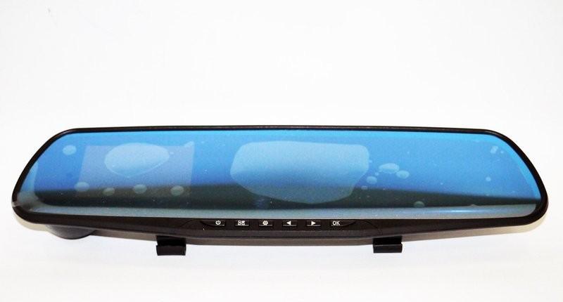 Зеркало заднего вида с видео регистратором dvr 138 full hd фото №1