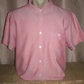 Рубашка с коротким рукавом 52-54 размера