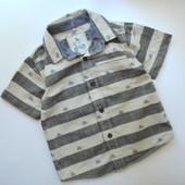 Рубашка с принтом TU (1,5-2 года)