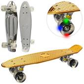 Скейт-пенни спортивный с подшипниками ABEC-7