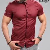 Рубашки короткий рукав р с-ххл.разные расцветки